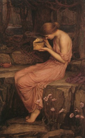 Waterhouse, Psyche Opening the Golden Box, 1903